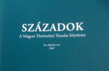 Haraszti Szabó Péter új tanulmánya jelent meg a Századokban