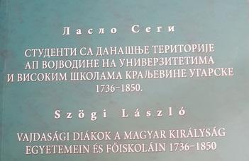 Megjelent Szögi László legújabb könyve