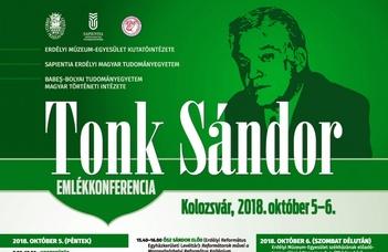 Megjelent a Tonk Sándor emlékkonferencia kötete