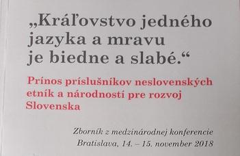 Kutatócsoportunk két munkatársának jelentek meg új publikációi Pozsonyban