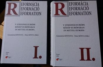 Kutatócsoportunk két munkatársa a közép-európai reformációval kapcsolatos publikációi jelentek meg Eperjesen